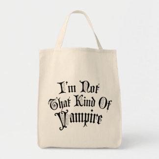 私はその種類の吸血鬼ではないです トートバッグ