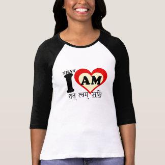 私はそのmantramです tシャツ
