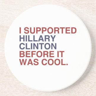 私はそれがクールだった前にヒラリー・クリントンを支えました コースター
