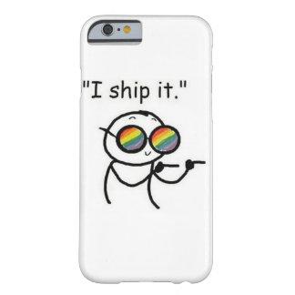 私はそれを出荷します BARELY THERE iPhone 6 ケース