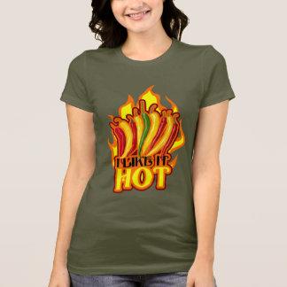 私はそれを熱い好みます Tシャツ