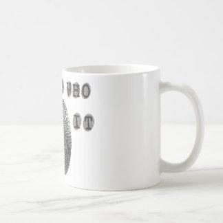 私はだれがそれをしたか知っています コーヒーマグカップ