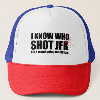 私はだれがJohn F Kennedyを…撃ったか知っています キャップ