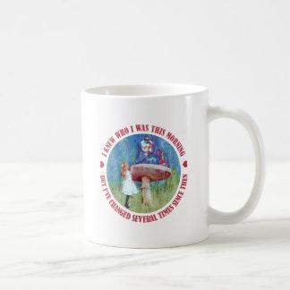 私はだれを私がこのMornngだったが、私が変わったか知っていました コーヒーマグカップ