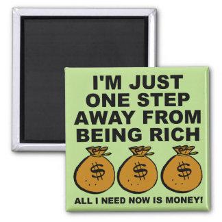 私はちょうどお金のおもしろいな冷蔵庫用マグネットを必要とします マグネット