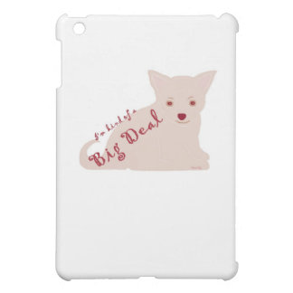 私はちょっと大事のチワワの子犬の態度です iPad MINIカバー