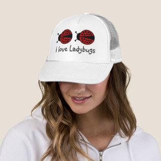 私はてんとう虫の帽子を愛します キャップ