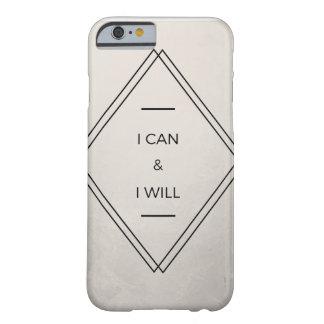 """""""私はでき""""、携帯電話の箱 BARELY THERE iPhone 6 ケース"""
