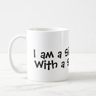私はですシンプルな人… シンプルなマグを使って コーヒーマグカップ