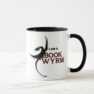 私はです本Wyrm (印刷される1つの側面) マグカップ