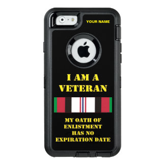 私はです退役軍人(Afgan戦争) オッターボックスディフェンダーiPhoneケース