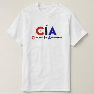 私はですCIA (Coolness Inc.の管理者) Tシャツ