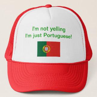 """""""私はで叫びません私ですちょうどポルトガル語!"""" 帽子"""