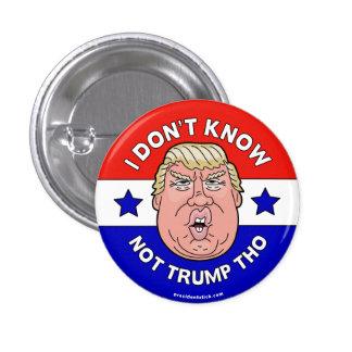 私はない切札Tho、アンチ切札ボタンかピンを知っていません 3.2cm 丸型バッジ