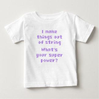 私はひもからあなたの極度のPoweはである何事を作ります ベビーTシャツ