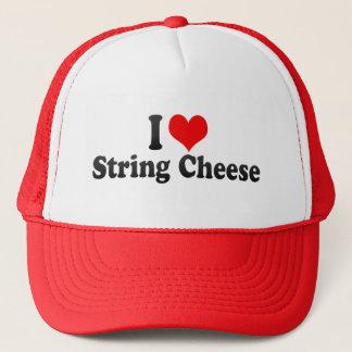 私はひもチーズを愛します キャップ