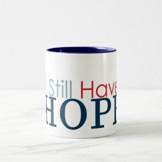 私はまだ有します希望(マグ)を ツートーンマグカップ
