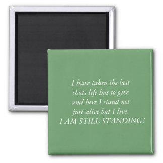 私はまだ立っています マグネット