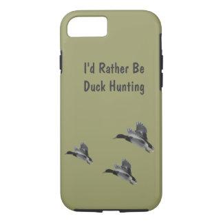 私はむしろアヒルの狩りのiPhone 7です iPhone 8/7ケース