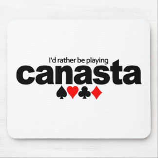 私はむしろカナスタのmousepadを遊んでいました マウスパッド