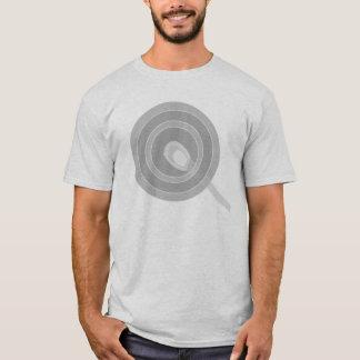 私はむしろガラス大理石都市Glassworksを吹いていました Tシャツ