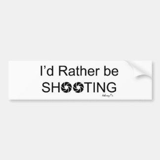 私はむしろバンパーステッカーを撃っていました バンパーステッカー
