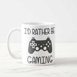 私はむしろビデオ賭博です コーヒーマグカップ
