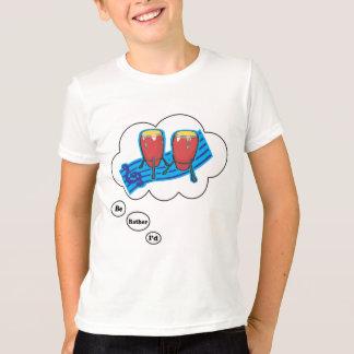 私はむしろボンゴ5を遊んでいました Tシャツ