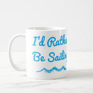 私はむしろマグを航海していました コーヒーマグカップ