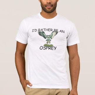 私はむしろミサゴです Tシャツ