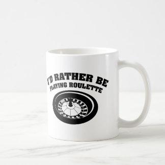 私はむしろルーレットを遊んでいました コーヒーマグカップ