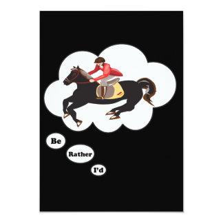 私はむしろ乗馬馬です カード