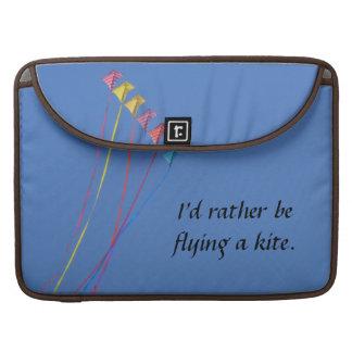 私はむしろ凧を飛ばしていました MacBook PROスリーブ
