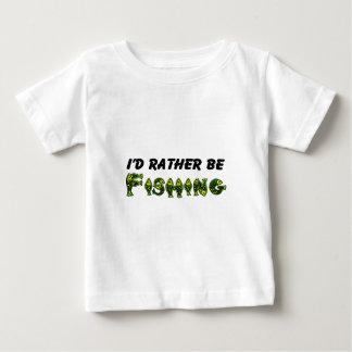 私はむしろ採取していました ベビーTシャツ