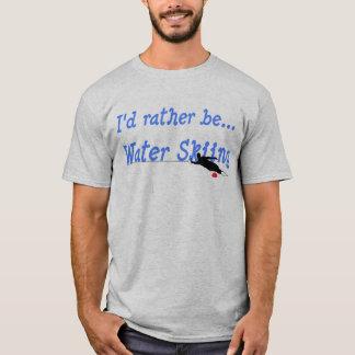 私はむしろ水上スキーのTシャツです Tシャツ