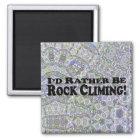 私はむしろ石の登山-多数プロダクトです マグネット