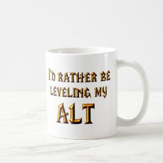 私はむしろ私のAltを水平にしていました コーヒーマグカップ
