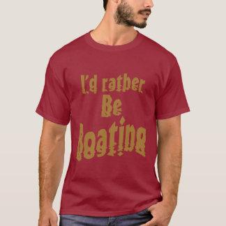 私はむしろ船遊びです Tシャツ