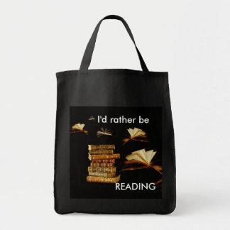 私はむしろ読んでいました トートバッグ
