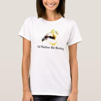 私はむしろ野鳥観察のミサゴのTシャツです Tシャツ