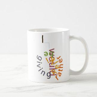私はむしろ霊気を与えていました。 あなたの愛を宣言して下さい コーヒーマグカップ