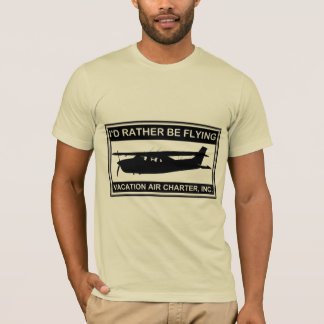 """""""私はむしろ""""アメリカの服装のTシャツを飛ばしていました Tシャツ"""