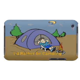 私はむしろ-キャンプ場面ipod touchの場合キャンプしていました Case-Mate iPod touch ケース
