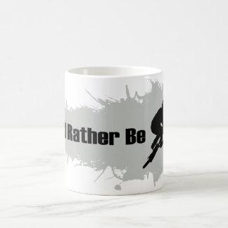 私はむしろBMXをしていました コーヒーマグカップ