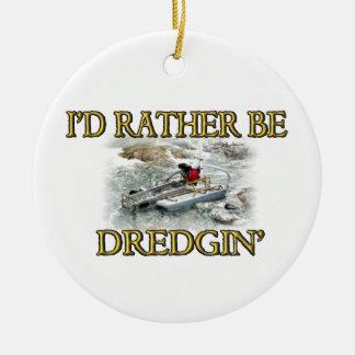 私はむしろDredginです セラミックオーナメント