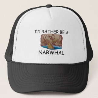 私はむしろNarwhalです キャップ