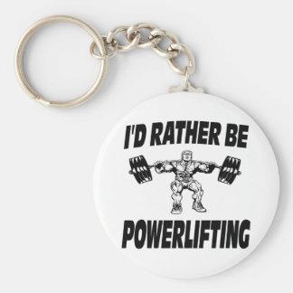 私はむしろPowerliftingの重量挙げです キーホルダー