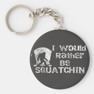 私はむしろSquatchinビッグフットKeychainです キーホルダー