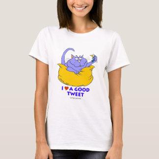 私はよいさえずりを愛します Tシャツ