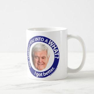 私はよくなりました コーヒーマグカップ
